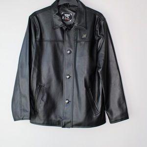 Armani Emporio Collezione leather jacket